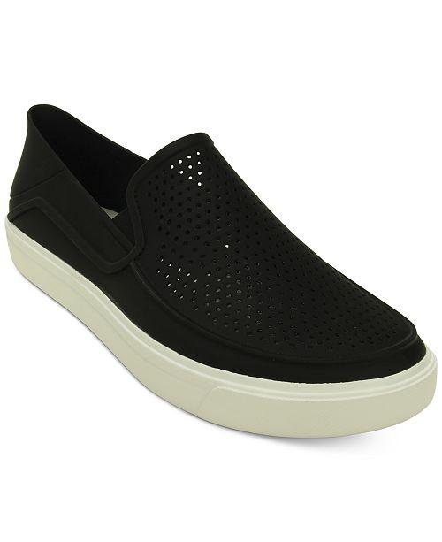 38302dc645 Crocs Men s CitiLane Röka Slip-Ons   Reviews - All Men s Shoes ...