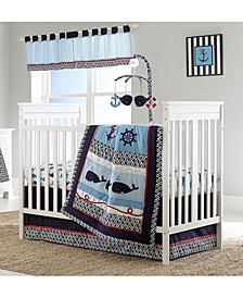 Whale of A Tail Crib Bedding Collection