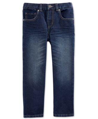 Image of Epic Threads Little Boys' Dark Blue Denim Jeans, Created for Macy's