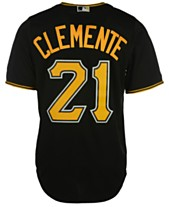 05cc789c517 Majestic Men s Roberto Clemente Pittsburgh Pirates Cooperstown Replica  Jersey