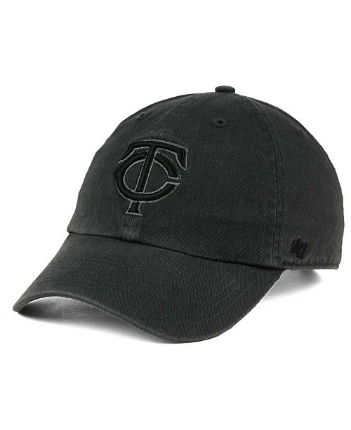 '47 Brand Minnesota Twins Charcoal Clean Up Cap