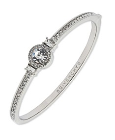 Six Prong Low Dome Comfort Fit Solitaire Engagement Ring In 18k