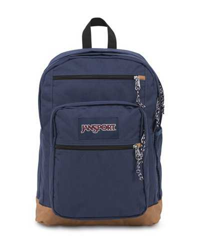 Jansport Cool Student Backpack in Navy - Backpacks - Luggage ...