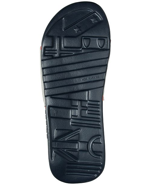 9f3cdd08663f adidas Men s Voloossage Slide Sandals from Finish Line   Reviews ...