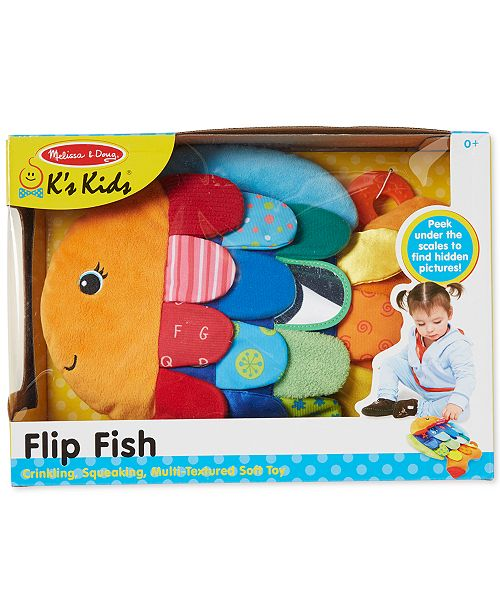 Melissa And Doug Melissa Doug Kids Flip Fish All Toys Games