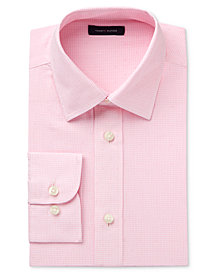 Tommy Hilfiger Pink Long-Sleeve Button-Up Shirt, Big Boys