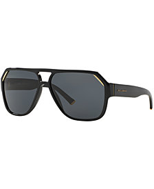 Dolce & Gabbana Polarized Sunglasses, DG4138