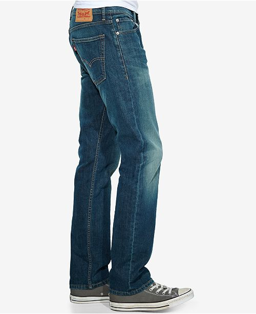 d454c88b06d Levi's 513™ Slim Straight Fit Jeans & Reviews - Jeans - Men - Macy's