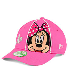 New Era Girls' Oakland Athletics Face-Front Minnie 9FORTY Cap