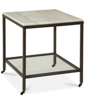 Stratus Rectangle End Table, Only At Macyu0027s