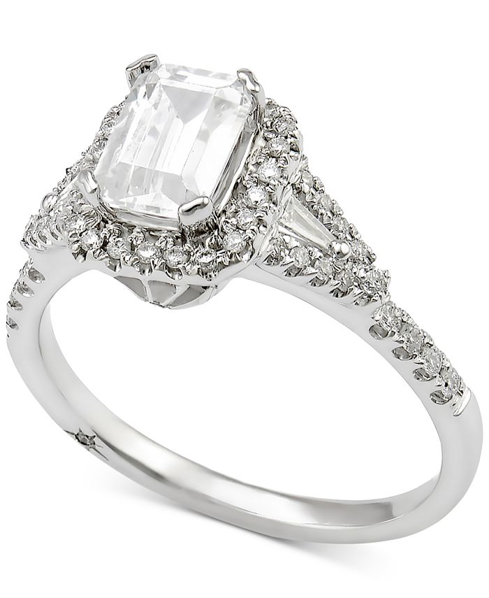 Marchesa - Diamond Engagement Ring (1 ct. t.w.) in 18k White Gold