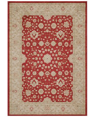 CLOSEOUT! Momeni Voyage Abbey Red Area Rugs