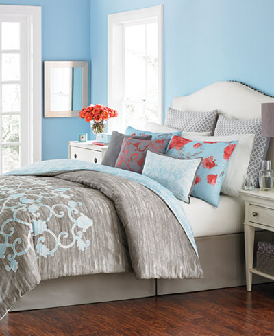 Martha Collection Camille 10 Pc Comforter Sets Created For Macy S