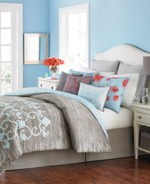 Closeout! Martha Stewart Collection Camille 10-Pc. King Comforter Set, Created for Macy's Bedding