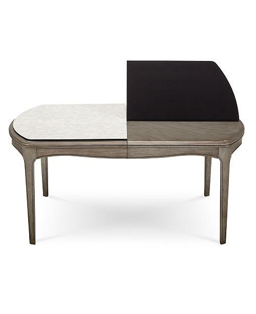 Furniture Kelly Ripa Home Hayley Table Pad Furniture Macys - Rectangle table pad