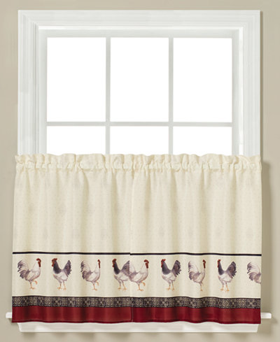 Saturday Knight French Country Rooster-Print Pair of 29