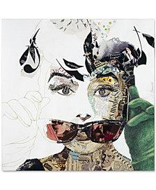 "'Audrey' Canvas Print by Ines Kouidis 24"" x 24"""