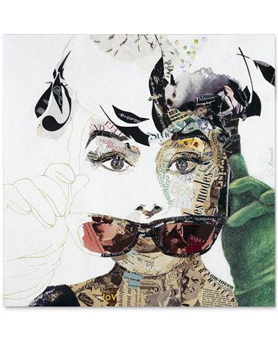 'Audrey' Canvas Print by Ines Kouidis 24