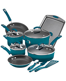 Rachael Ray 14-Pc. Nonstick Cookware Set, Created for Macy's