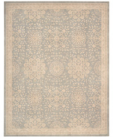 Kathy Ireland Home Royal Serenity Collection St James Cloud Area Rug