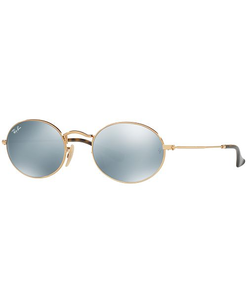 Ray-Ban Sunglasses, RB3547N OVAL FLAT LENSES