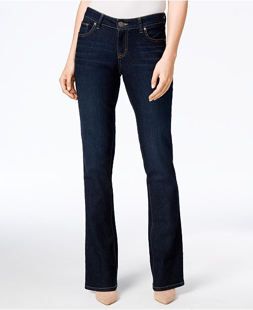 25a21757a67 ... Style   Co Curvy-Fit Bootcut Jeans
