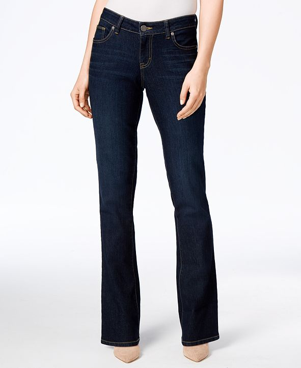Style & Co Curvy-Fit Bootcut Jeans, Created for Macy's