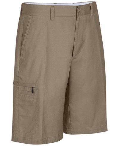 Greg Norman for Tasso Elba Men's 5 Iron Performance Golf Shorts ...