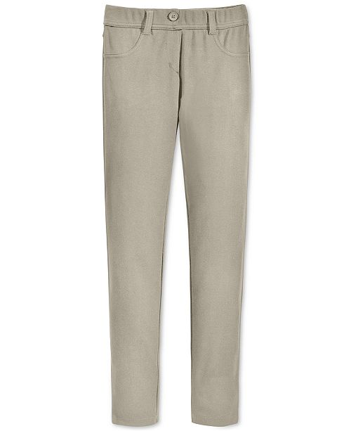 Nautica Big Girls & Big Girls Plus-Size Knit Denim-Look Leggings