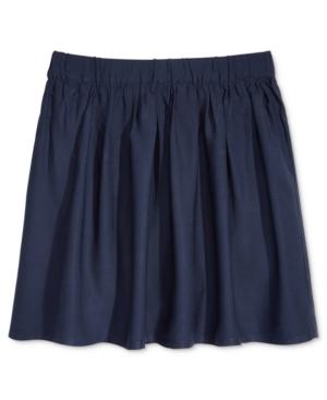 Nautica School Uniform Scooter Skirt Big Girls Plus