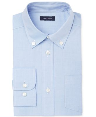 Image of Tommy Hilfiger Pinpoint Oxford Shirt, Boys