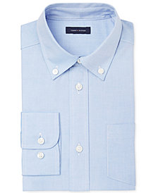 Tommy Hilfiger Pinpoint Oxford Shirt, Big Boys