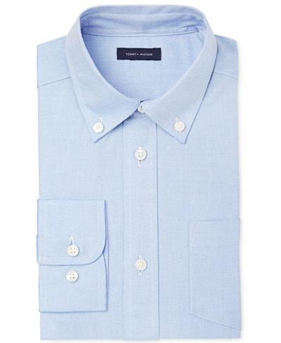 Tommy Hilfiger Pinpoint Oxford Shirt, Big Boys
