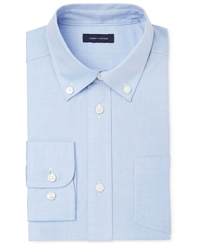 Tommy Hilfiger - Pinpoint Oxford Shirt, Boys