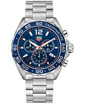 a70e338a9e3 TAG Heuer Men s Swiss Chronograph Formula 1 Stainless Steel Bracelet Watch  43mm