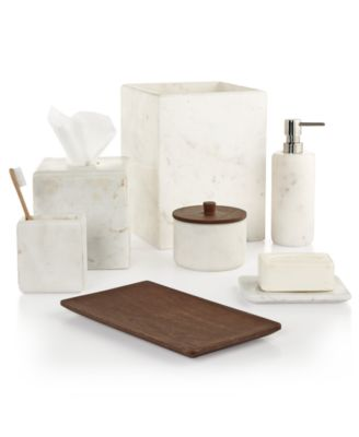 Superbe CLOSEOUT! Marble Bath Accessories, Created For Macyu0027s