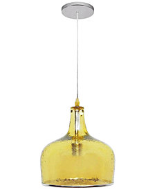 Abbyson Living Arlo Glass Pendant Light