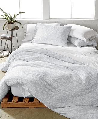 Calvin Klein Modern Cotton Primal Gray Bedding Collection
