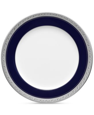 """Crestwood Cobalt Platinum"" Salad Plate"