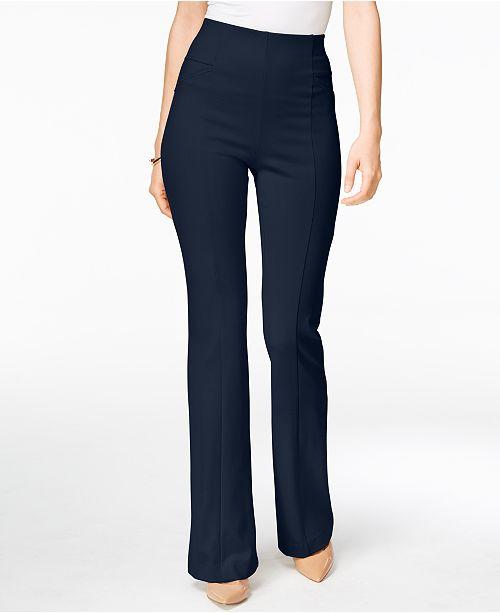 621cb6b6c1669 INC International Concepts I.N.C. High-Waist Curvy-Fit Bootcut Pants ...