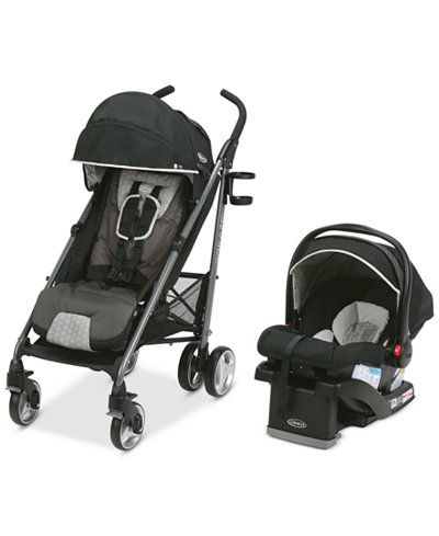 Graco Baby Breaze Stroller & SnugRide Click Connect 35 Infant Car Seat Travel System