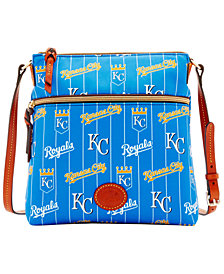 Dooney & Bourke Kansas City Royals Nylon Crossbody Bag