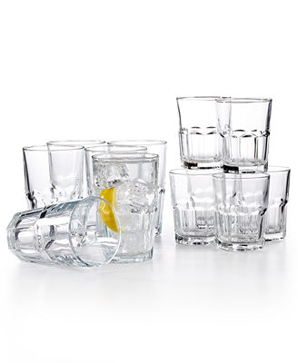 The Cellar Elena 12-Pc. Glassware Set, Created for Macy's