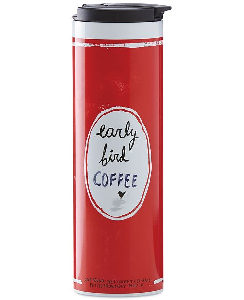 """kate spade new york all in good taste """"Early Bird Coffee"""" Travel Tumbler, Created for Macy's"""