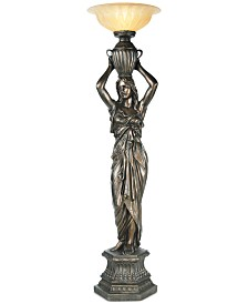 Pacific Coast Young Maiden Torchiere Floor Lamp