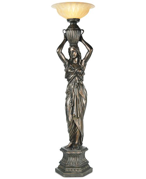 Pacific coast young maiden torchiere floor lamp lighting lamps main image main image aloadofball Choice Image