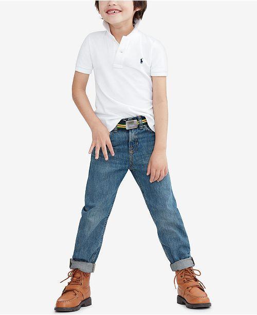 e1764fd9e Polo Ralph Lauren Ralph Lauren Pique Polo   Slim-Fit Mott Jeans