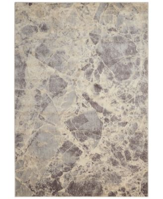 "CLOSEOUT! Moraine MO745 Grey 3'6"" x 5'6"" Area Rug"