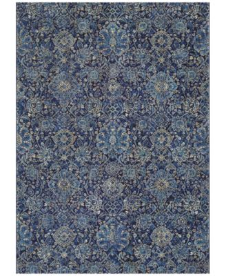 "Taylor Winslet Navy-Sapphire 9'2"" x 12'5"" Area Rug"