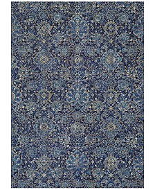 "Couristan Taylor Winslet Navy-Sapphire 7'10"" x 11'2"" Area Rug"